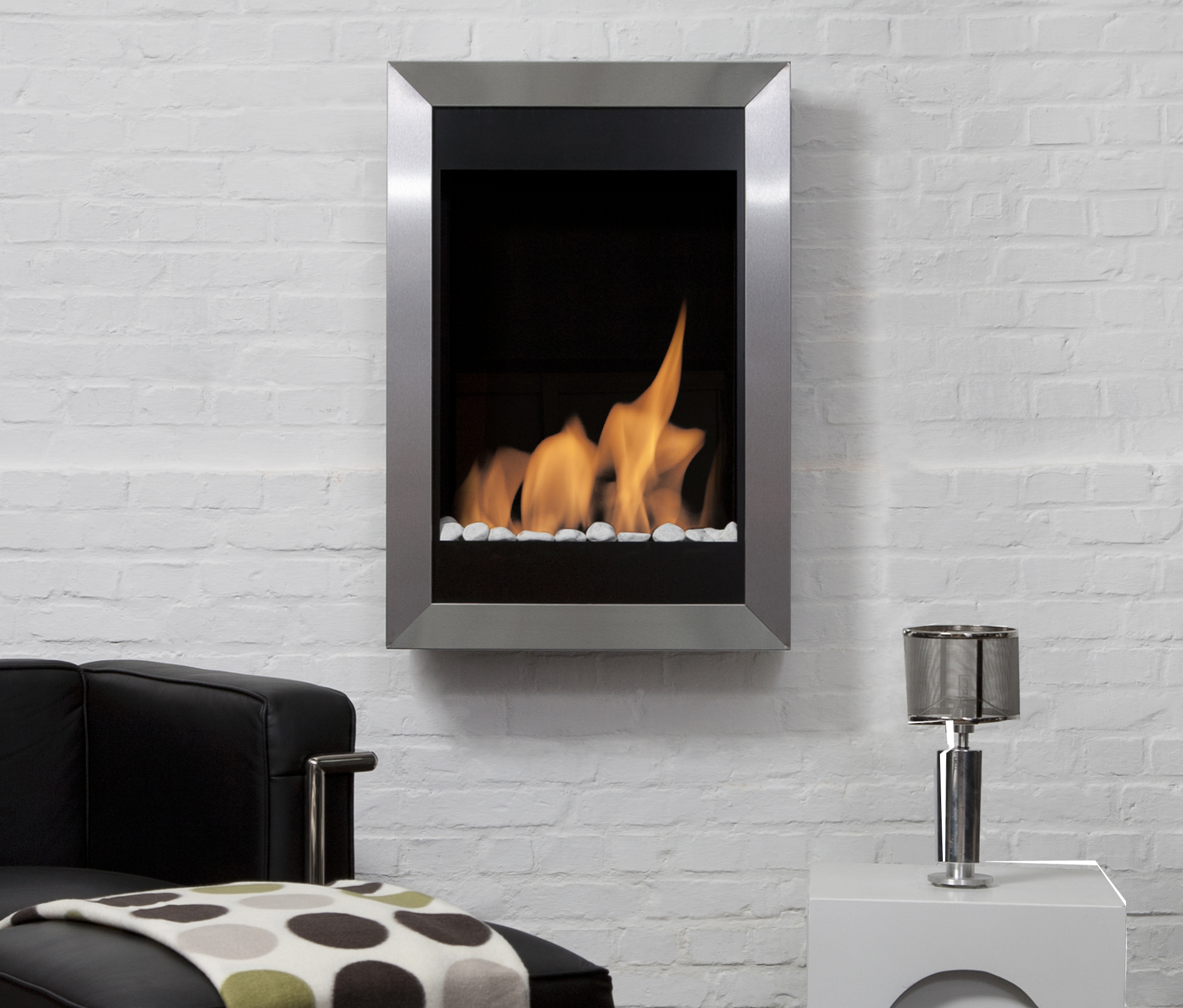 melibea climacity product mounted contemporary hearth purline fireplace wall bioethanol open water prod vapor